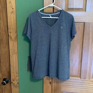 Navy Under Armour shirt, loose fit, size large